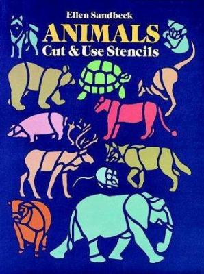 Animals Cut & Use Stencils 9780486257884