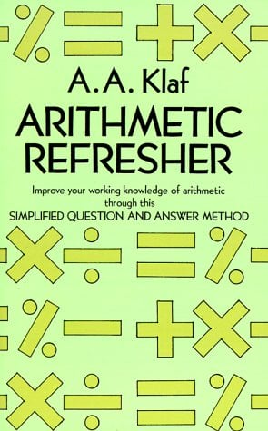 Arithmetic Refresher 9780486212418