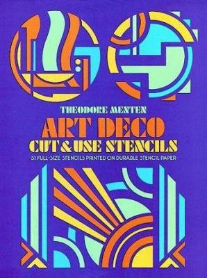Art Deco Cut & Use Stencils 9780486235516