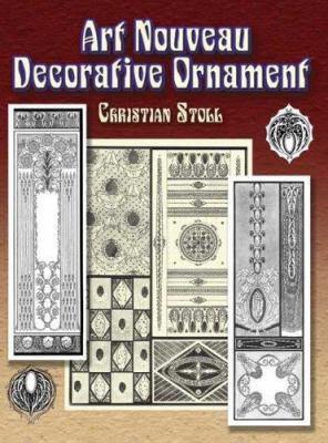 Art Nouveau Decorative Ornament 9780486454337