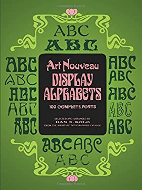 Art Nouveau Display Alphabets 9780486233864