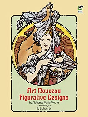 Art Nouveau Figurative Designs 9780486234441