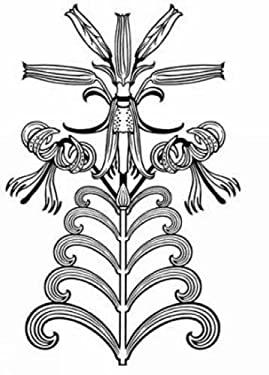 Art Nouveau Floral Designs [With CD-ROM] 9780486996912
