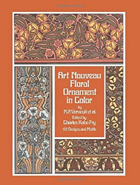 Art Nouveau Floral Ornament in Color 9780486234090