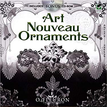 Art Nouveau Ornaments [With CDROM] 9780486475295