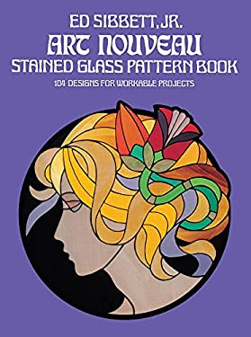 Art Nouveau Stained Glass Pattern Book 9780486235776