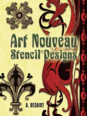 Art Nouveau Stencil Designs 9780486454269