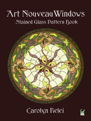 Art Nouveau Windows Stained Glass Pattern Book 9780486409535