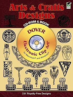 Arts and Crafts Designs [With CDROM]