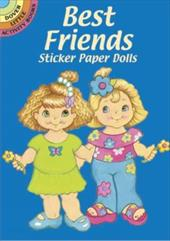 Best Friends Sticker Paper Dolls