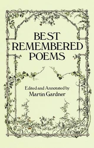 Best Remembered Poems 9780486271651