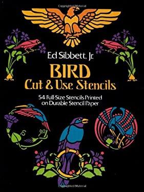 Bird Cut & Use Stencils 9780486240794