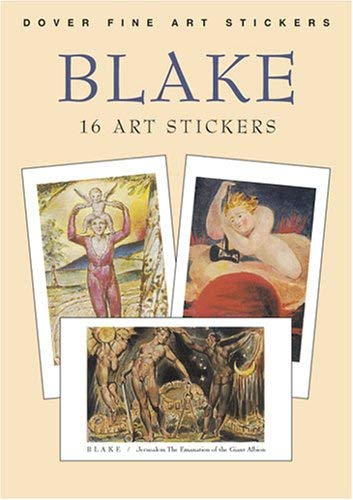 Blake: 16 Art Stickers 9780486430683