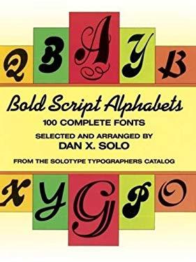 Bold Script Alphabets 9780486259666