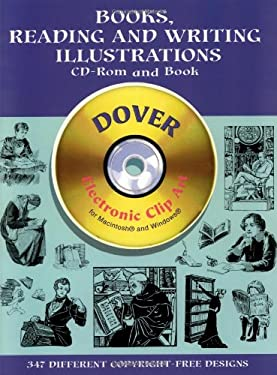 Books, Reading and Writing Illustrations CD-ROM and Book [With CDROM]