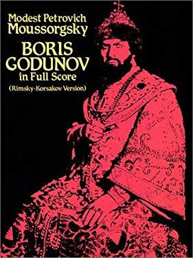 Boris Godunov in Full Score (Rimsky-Korsakov Version) 9780486253213
