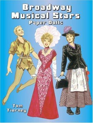 Broadway Musical Stars Paper Dolls 9780486433486