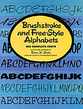 Brushstroke and Free-Style Alphabets 9780486234885