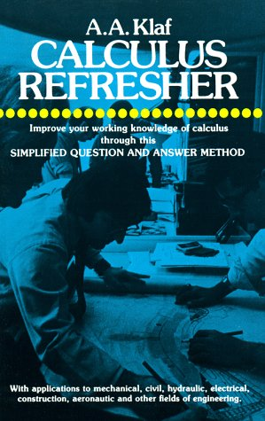Calculus Refresher 9780486203706