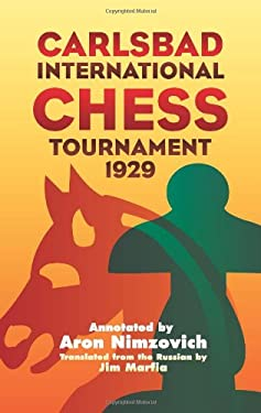 Carlsbad International Chess Tournament 1929 9780486439426