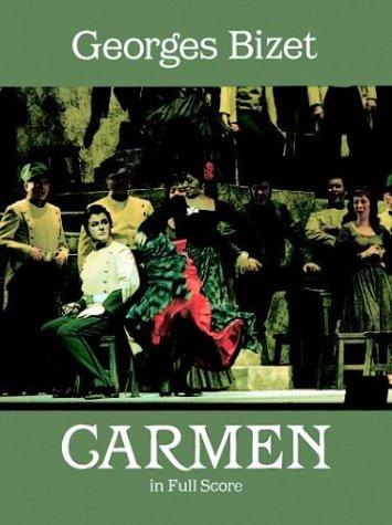 Carmen in Full Score 9780486258201