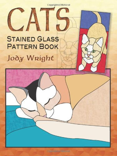 Cats Stained Glass Pattern Book 9780486461946