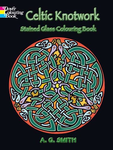 Celtic Knotwork Stained Glass Colouring Book 9780486448169