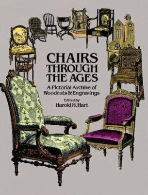 Chairs Through the Ages: A Pictorial Archive of Woodcuts & Engravings 9780486243481