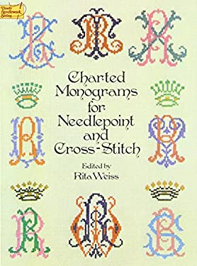Charted Monograms for Needlepoint and Cross-Stitch 9780486235554
