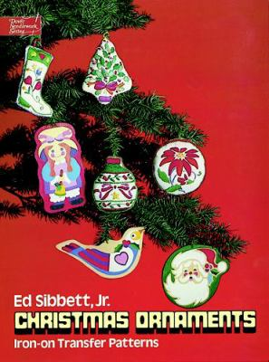 Christmas Ornaments Iron-On Transfer Patterns 9780486236872