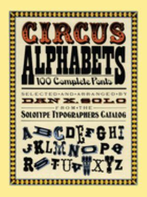 Circus Alphabets 9780486261553