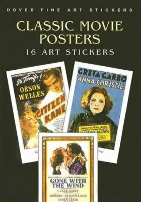 Classic Movie Posters: 16 Art Stickers 9780486445427