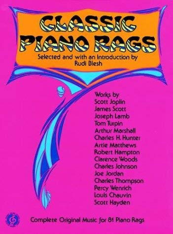 Classic Piano Rags 9780486204697