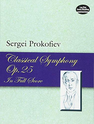 Classical Symphony, Op. 25, in Full Score 9780486449500