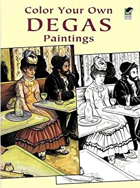 Color Your Own Degas Paintings 9780486423760