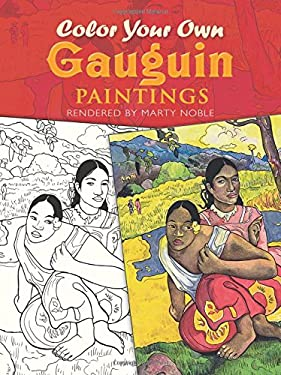 Color Your Own Gauguin Paintings 9780486413259