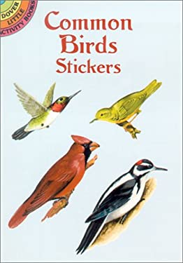 Common Birds Stickers 9780486418339