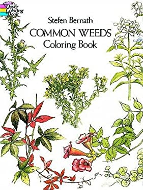 Common Weeds Coloring Book 9780486233086