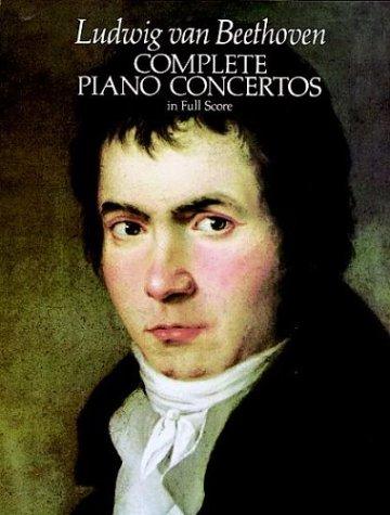 Complete Piano Concertos in Full Score 9780486245638