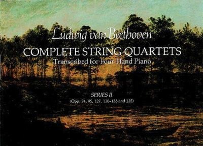 Complete String Quartets Transcribed for Four-Hand Piano (Series II) 9780486239750
