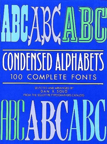 Condensed Alphabets 9780486251943