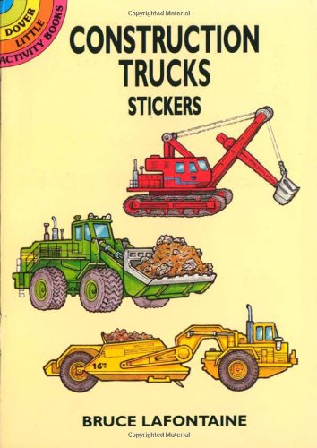 Construction Trucks Stickers 9780486409733