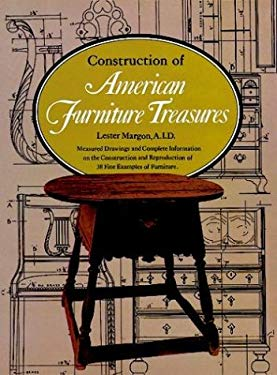 Construction of American Furniture Treasures 9780486230566