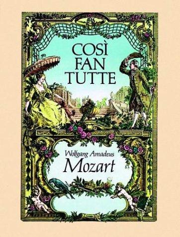 Cosi Fan Tutte in Full Score 9780486245287