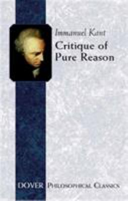 Critique of Pure Reason 9780486432540