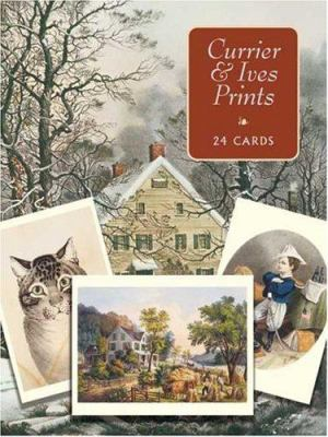 Currier & Ives Prints: 24 Cards 9780486268491