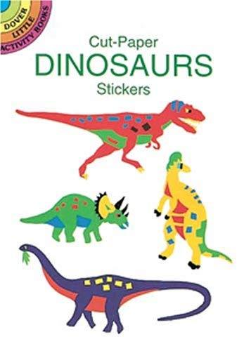 Cut-Paper Dinosaur Stickers 9780486290768