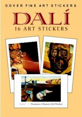 Dali: 16 Art Stickers