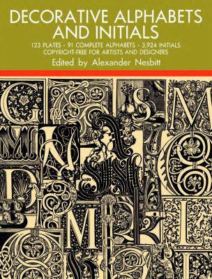 Decorative Alphabets and Initials 9780486205441