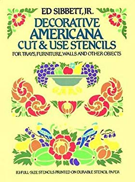 Decorative Americana Cut & Use Stencils 9780486249704